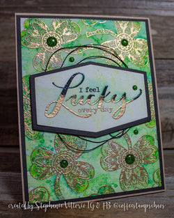 VENETIAN LABEL DIE SET 15 layers!!! - Gina Marie Designs