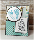 LAYERED BABY FEET STAMP SET - Gina Marie Designs