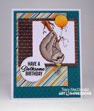 SLOTH-SOME - ART IMPRESSIONS CLEAR STAMPS BY BONNIE KREBS