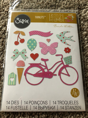 SIZZIX DIE SET THINLITS - WHIMSY & DELIGHT