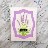 NESTED LABEL #1 DIE SET - Gina Marie Designs