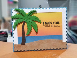 LAYERED TROPICAL PALM TREE DIE SET - Gina Marie Designs
