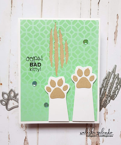 CAT PAW DIE SET - Gina Marie Designs