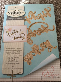 HIP HIP HOORAY - SPELLBINDERS DIE SET