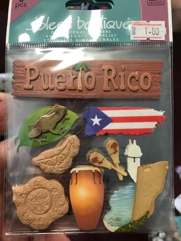 PUERTO RICO - Jolees boutique stickers