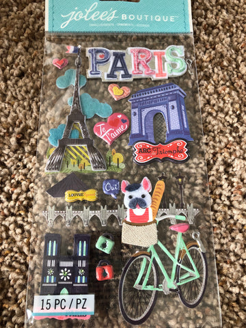 NEW STYLE XL PARIS - Jolee's Boutique Stickers