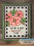 FLOWER CHAIN RECTANGLE DIE SET - GINA MARIE DESIGNS