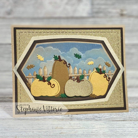 PERFECT PUMPKINS DIE - Gina Marie Designs