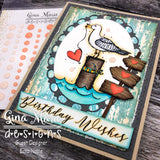 WOODEN SIGN POST DIE - GINA MARIE DESIGNS