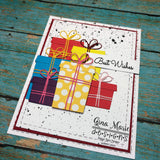 PRESENTS WITH BOWS DIE SET - GINA MARIE DESIGNS