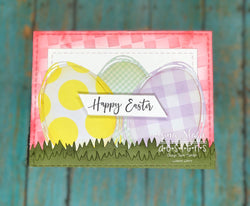 SWIRLY EGG WREATH DIE - GINA MARIE DESIGNS
