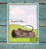 SPOTTED LIZARD DIE - GINA MARIE DESIGNS