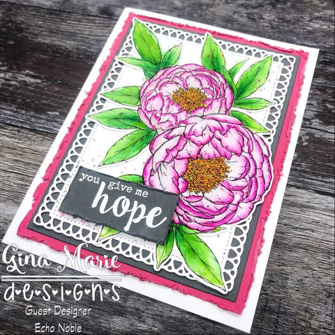 LOOPY RECTANGLE DIE SET - Gina Marie Designs
