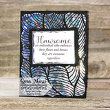 FOSSILIZED PATTERN STENCIL 6X6 - GINA MARIE DESIGNS