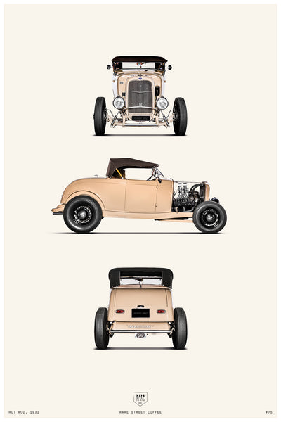 POSTER HOT ROD