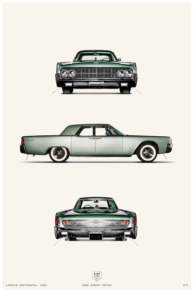 POSTER LINCOLN CONTINENTAL