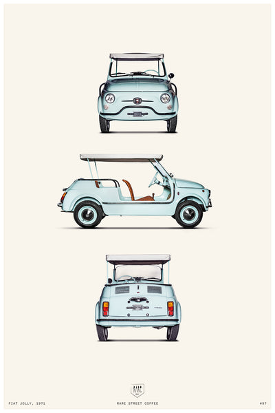 POSTER FIAT JOLLY