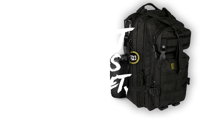 Toughest diaper bags on the planet.