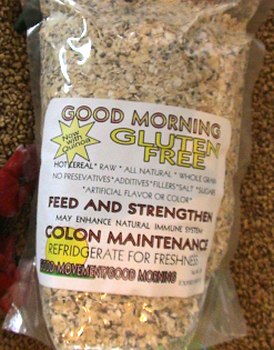 <i>GOOD MORNING</i> Cereal<br><b>Gluten Free: 1 lb 4 oz</b><br>(22 servings @ 82 cents each)