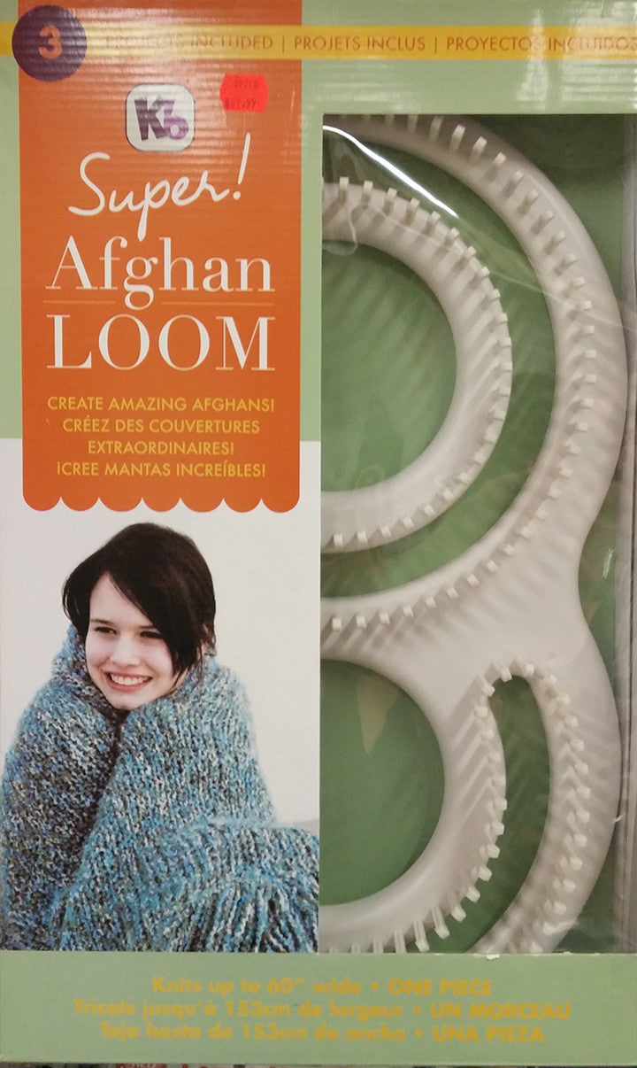 Afghan Loom Knitting Yarn