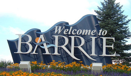 Barrie City Sign