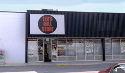 External view of the Len's Mill Store location in Brantford