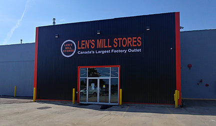An external view of the new Groh Ave location for the Cambridge Len's Mill Store