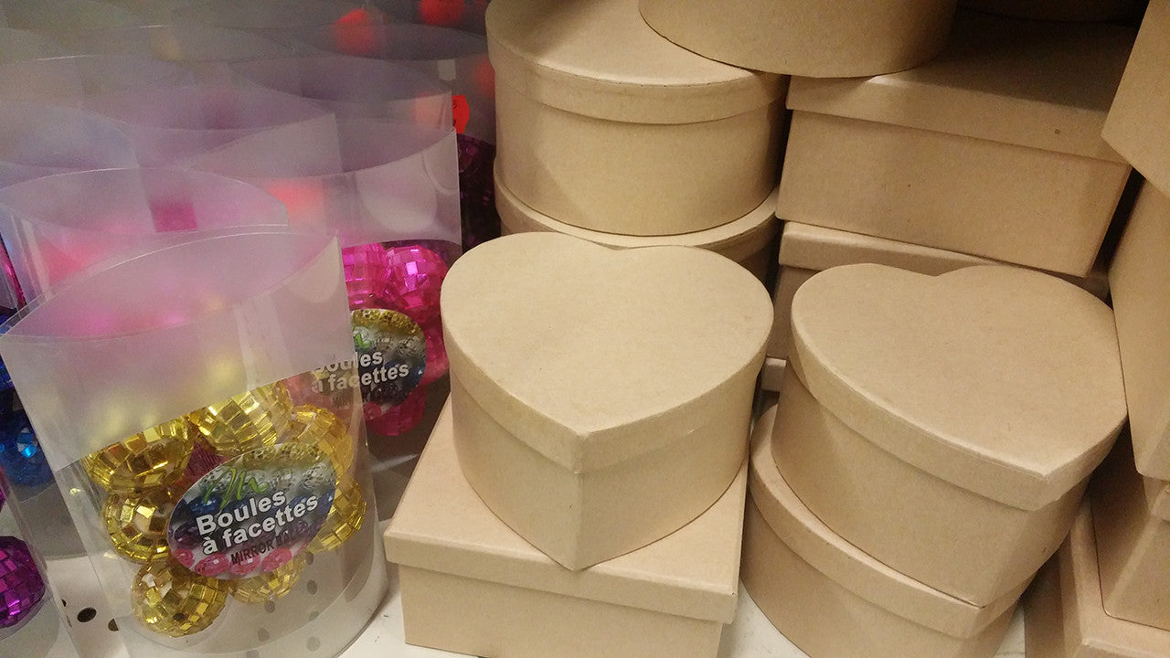 Craft Boxes and Disco Balls