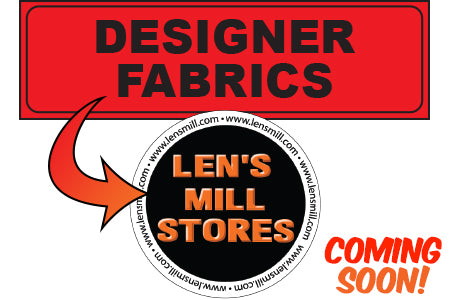 Designer Fabrics stock coming soon to our Toronto location