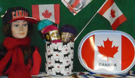 Hamilton Canada Day Flags Clothes Gear Display