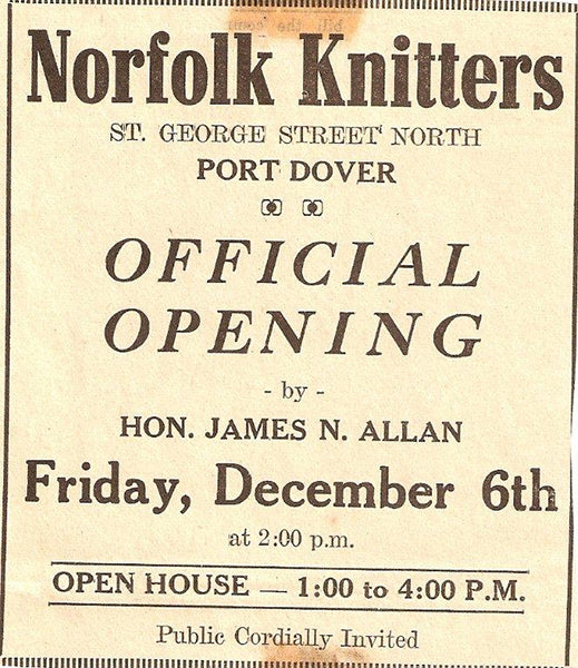 Norfolk Knitters History