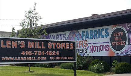 Toronto/North York Location - Len's Designer Fabric Store