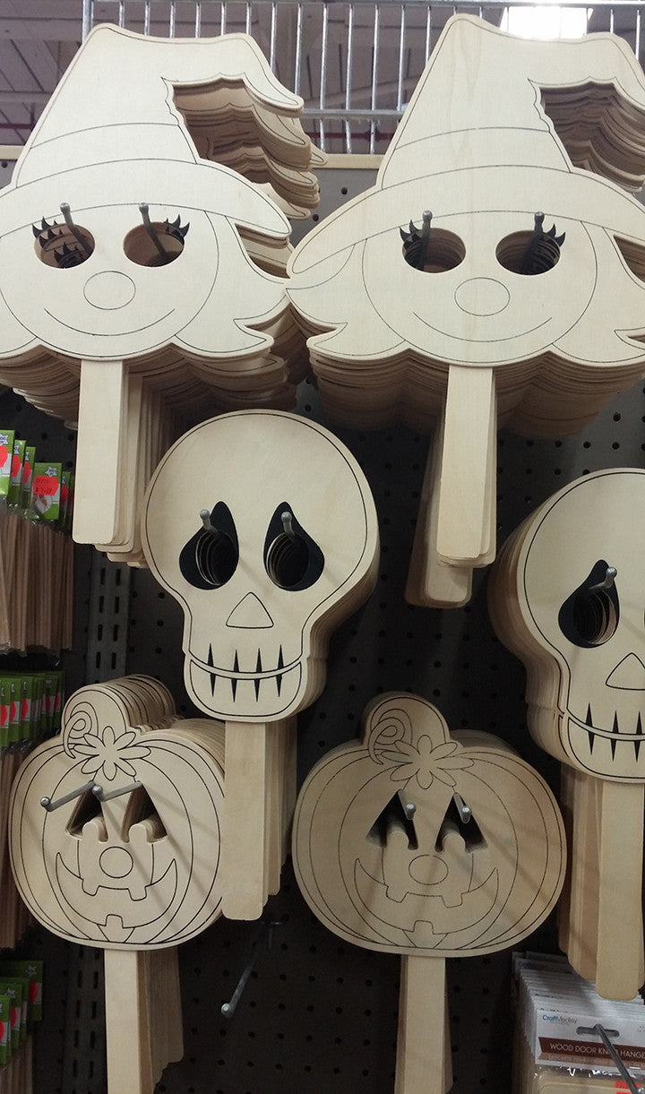 Wood Craft Masks