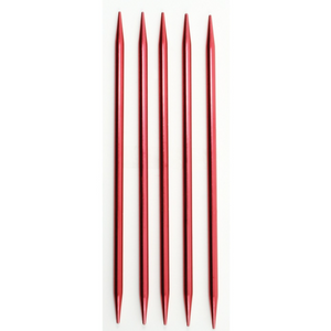 Set of 5 double pointed knitting needles size 7""