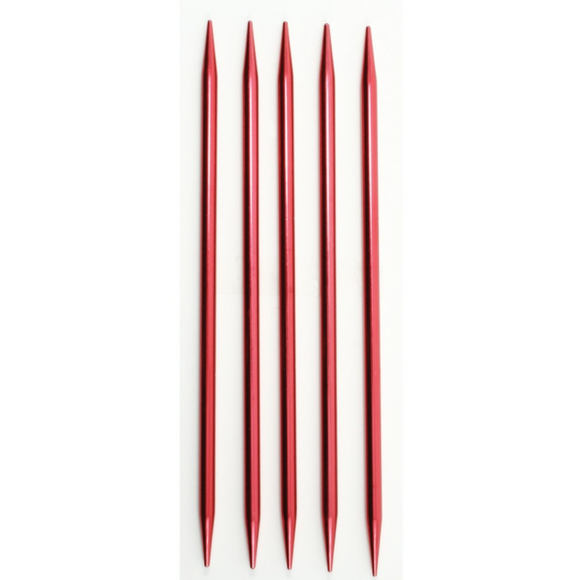 Set of 5 double pointed knitting needles size 7