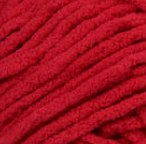 Race Car Red swatch of Bernat Blanket Brights