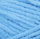 Busy Blue swatch of Bernat Blanket Brights