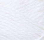 White ball of Bernat Handicrafter Cotton (small, 50g ball)