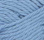 French Blue (pale blue) ball of Bernat Handicrafter Cotton (small, 50g ball)