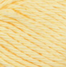 Pale Yellow ball of Bernat Handicrafter Cotton (small, 50g ball)