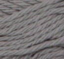 Overcast (mid grey) ball of Bernat Handicrafter Cotton (small, 50g ball)