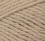 Jute (tan) ball of Bernat Handicrafter Cotton (small, 50g ball)