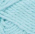 Robin's Egg (pale, bright blue)  ball of Bernat Handicrafter Cotton (small, 50g ball)