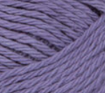 Hot Purple (soft violet) ball of Bernat Handicrafter Cotton (small, 50g ball)