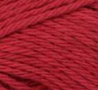 Country Red (deep red) ball of Bernat Handicrafter Cotton (small, 50g ball)
