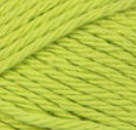 Hot Green (bright, light) ball of Bernat Handicrafter Cotton (small, 50g ball)