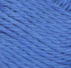 Blueberry (mid blue) ball of Bernat Handicrafter Cotton (small, 50g ball)