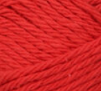 Red ball of Bernat Handicrafter Cotton (small, 50g ball)