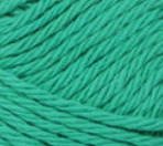 Emerald (bright green) ball of Bernat Handicrafter Cotton (small, 50g ball)