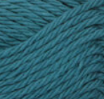 Teal ball of Bernat Handicrafter Cotton (small, 50g ball)